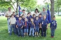 image of boy scout troop