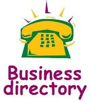 "clipart of phone with text ""business directory"""