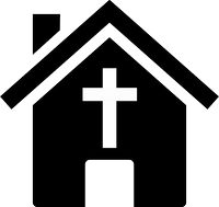 clipart of a church