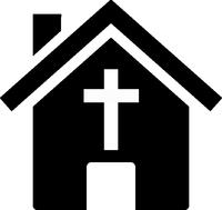 clipart of a church