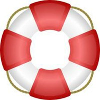 clipart of lifeguard floating device