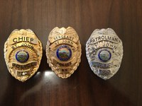 st john police badges