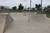 image of skateboard park