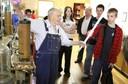 Hood's Haven Science Museum Jim Hood with Tesla coil